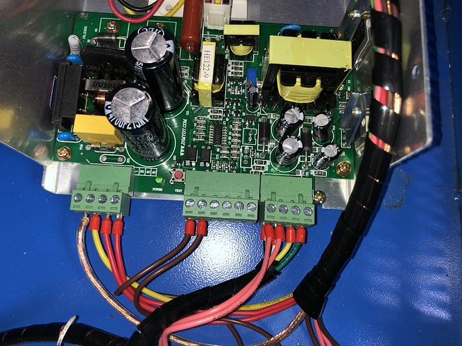 Power Supply Wiring after removing power readout board