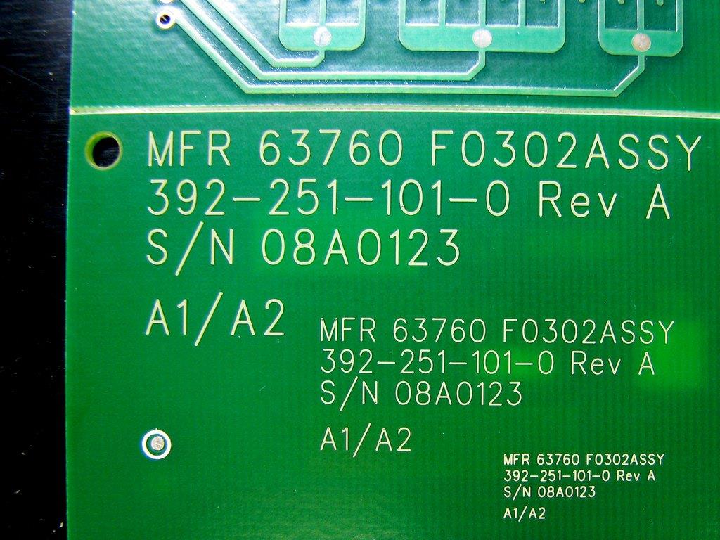 laser-marking-text-tested-in-three-sizes-on-pcb