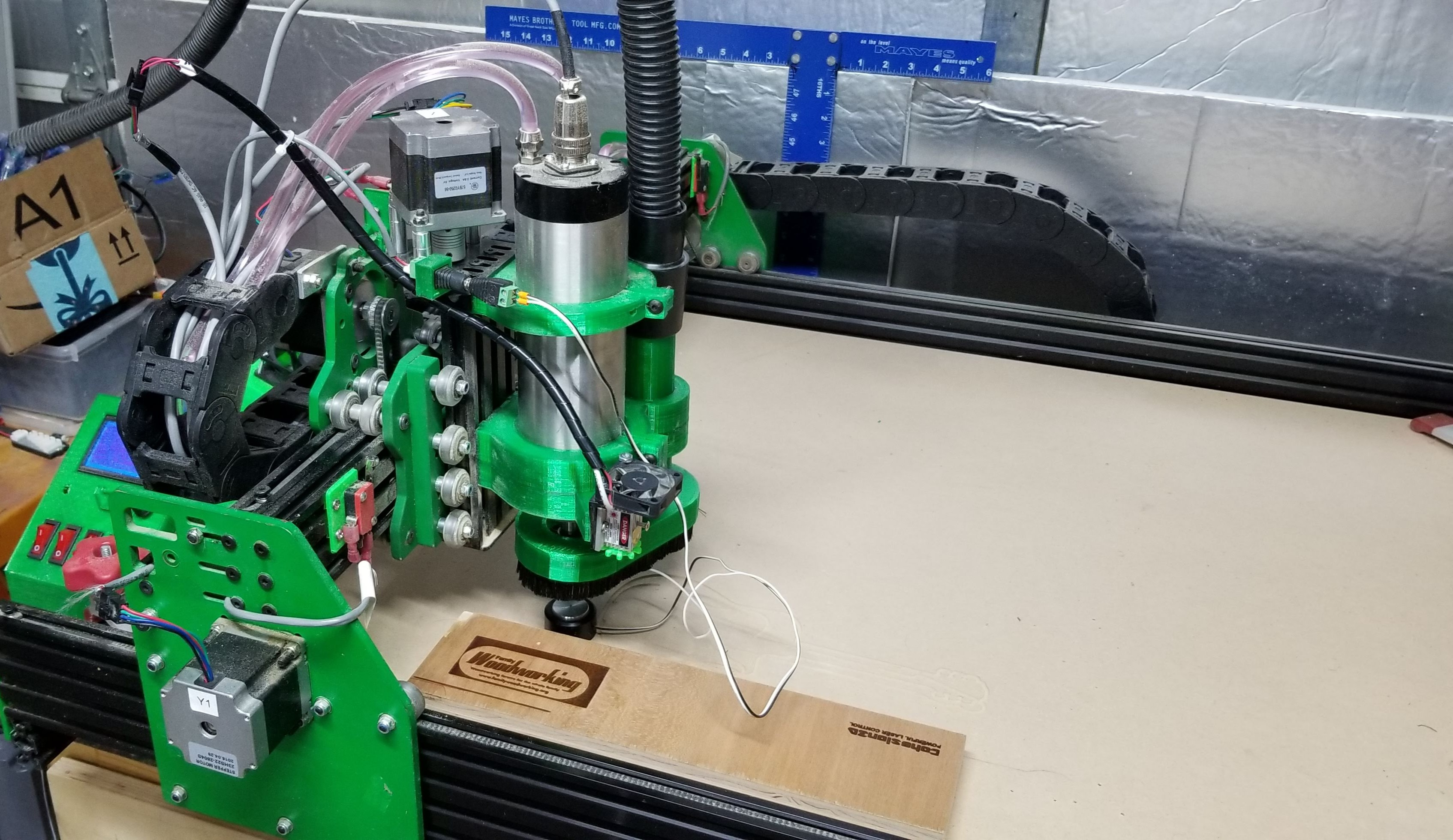 C3D Controlled CNC with Jtech Laser - Show & Tell: Machines