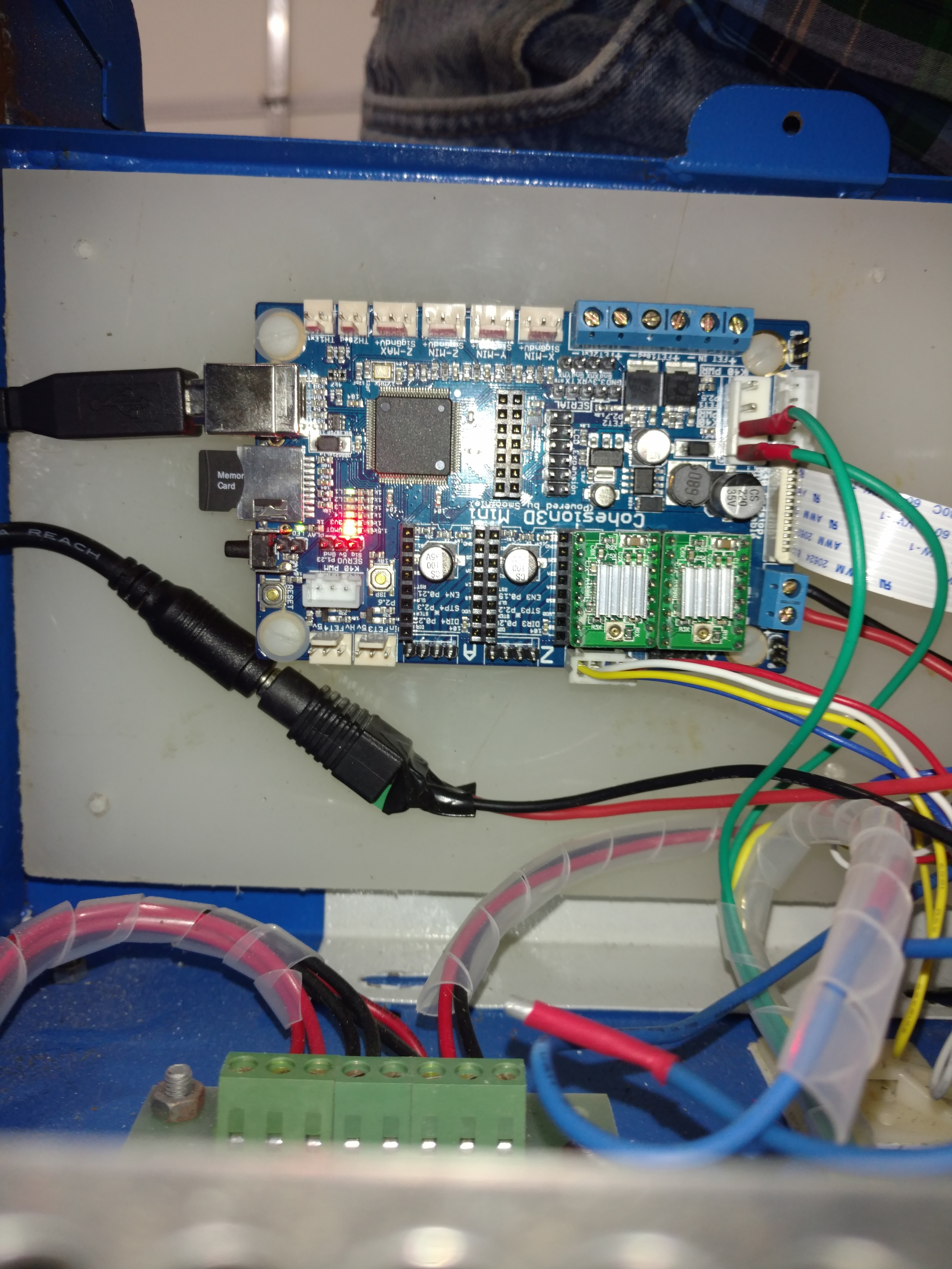 Laser not firing from board - Board Configuration and Setup